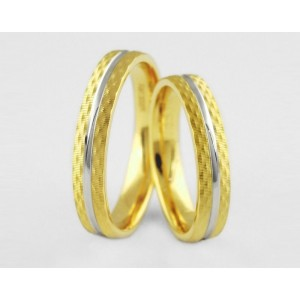 Золотое обручальное кольцо 1-203 euro