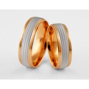 Золотое обручальное кольцо 1-215 euro фото