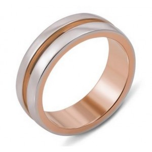 Золотое обручальное кольцо 10147