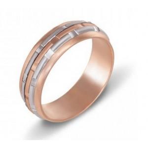 Золотое обручальное кольцо 1030/1