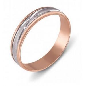 Золотое обручальное кольцо 1035/1 модель Антистресс