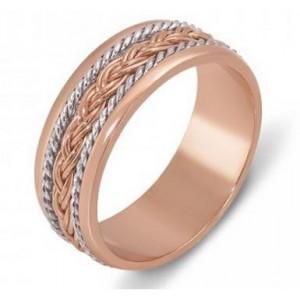 Золотое обручальное кольцо 1042