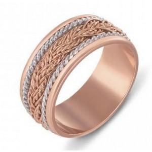 Золотое обручальное кольцо 1048