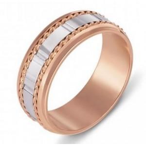 Золотое обручальное кольцо 1058