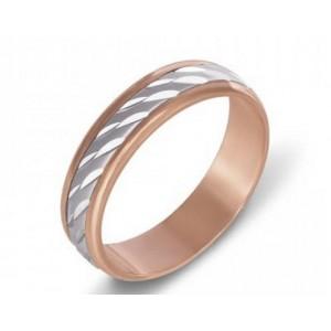 Золотое обручальное кольцо 1067/1 модель Антистресс