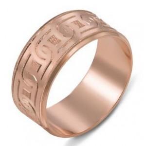 Золотое обручальное кольцо 1070/3