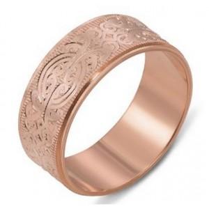 Золотое обручальное кольцо 1070/4