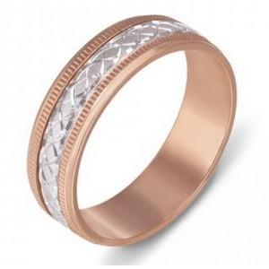 Золотое обручальное кольцо 1071