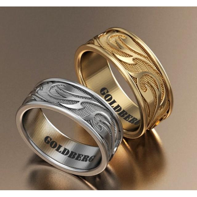 Золотое обручальное кольцо Goldberg 10-70