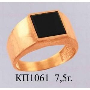 Золотая печать мужская 1061