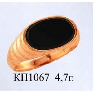 Золотая печать мужская 1067