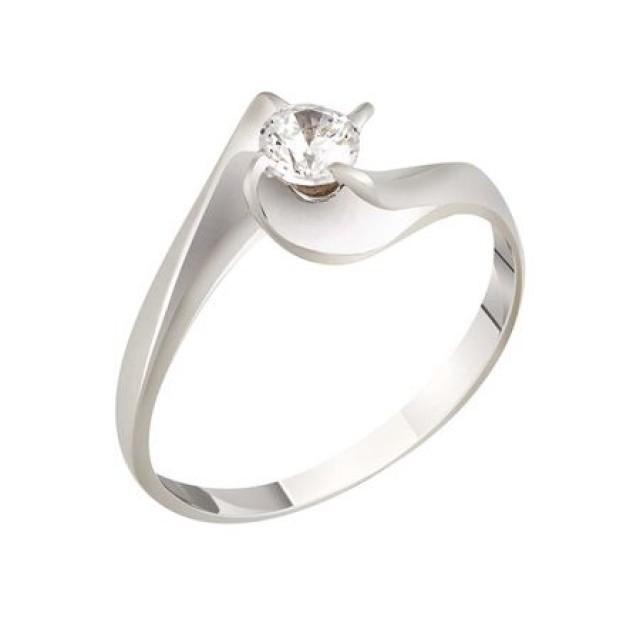 Золотое кольцо для помолвки 1100662sv