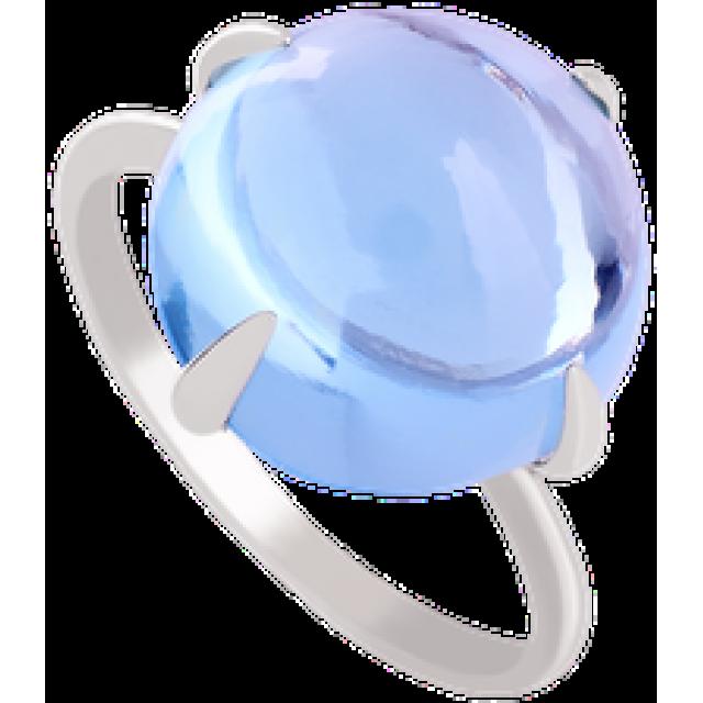 Золотое кольцо с топазом 112-1233