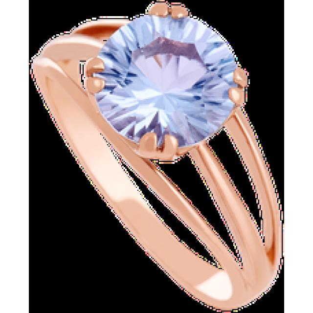 Золотое кольцо с топазом 112-1357
