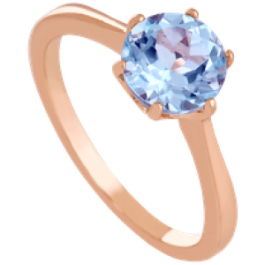 Золотое кольцо с топазом 112-1583