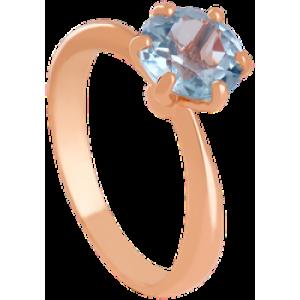 Золотое кольцо с топазом 112-1627