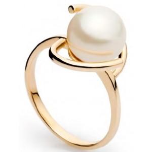 Золотое кольцо с жемчугом 113137001