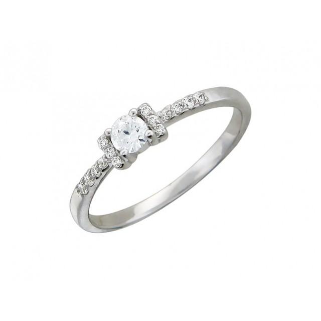 Золотое кольцо для помолвки 11952100