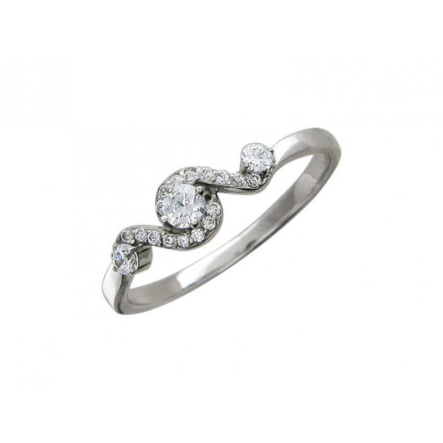Золотое кольцо для помолвки 11952107