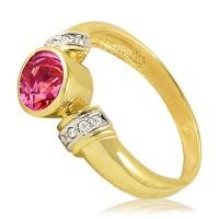 Золотое кольцо для помолвки 11953115