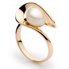 Золотое кольцо с жемчугом 13131001