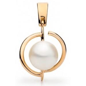 Золотой кулон с жемчугом 131780001 фото