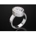 Золотое кольцо с эмалью 1401510
