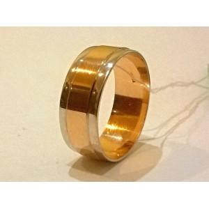 Золотое обручальное кольцо американка 144