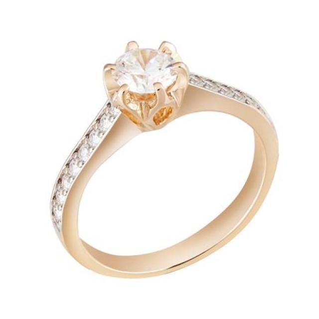 Золотое кольцо 1694771sv