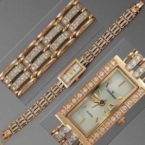 Золотые часы женские 169м