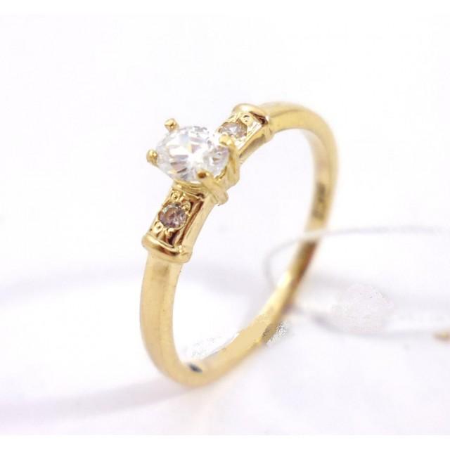 Золотое кольцо для помолвки 20044grand