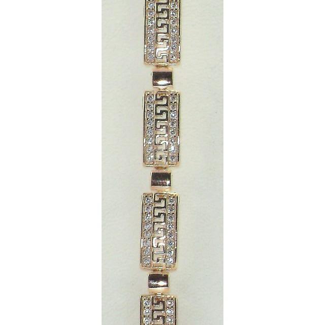 Золотой браслет БС283