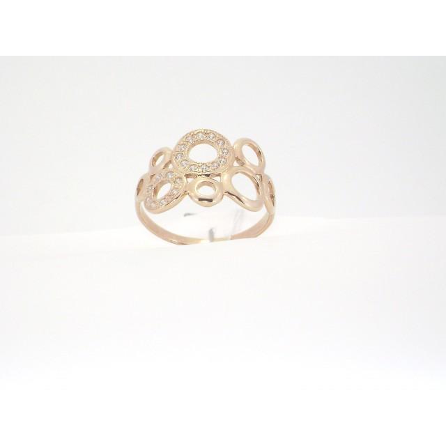 Золотое кольцо КВ 1711 ЮЭ фото