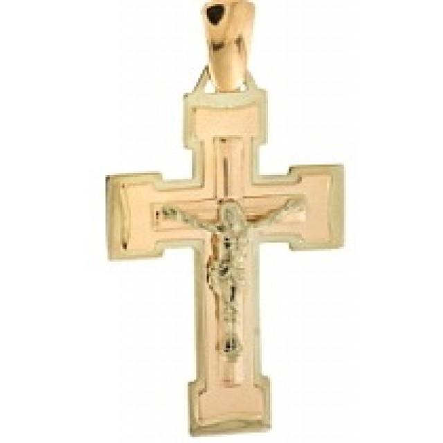 Золотой крестик 210058