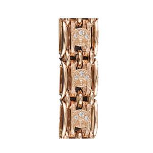 Золотой браслет для часов женский 240кч