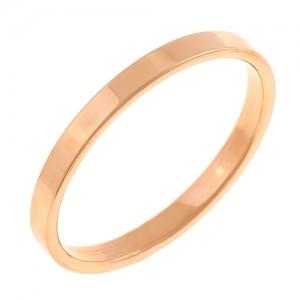 Золотое обручальное кольцо Американка 4110520
