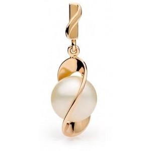 Золотой кулон с жемчугом 31710001