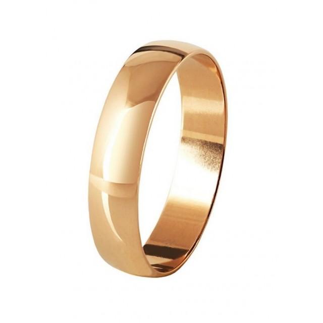 Золотое обручальное кольцо 4110539 фото