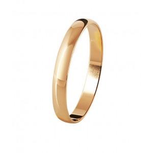 Золотое обручальное кольцо классическое 4110533