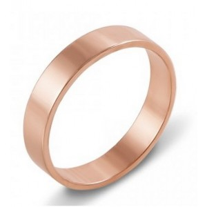Золотое обручальное кольцо Американка 4110535
