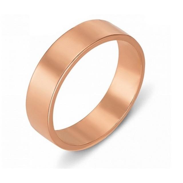 Золотое обручальное кольцо Американка 4110545