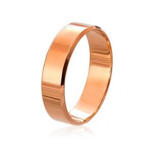 Золотое обручальное кольцо американка 4110545-1