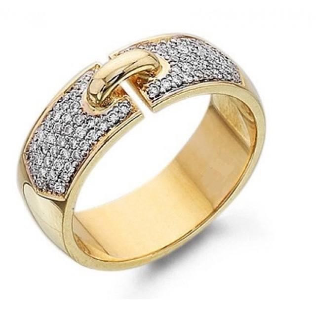 Золотое обручальное кольцо 412710к фото