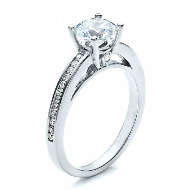 Золотое кольцо для помолвки 80-1