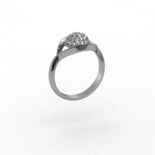 Серебряное кольцо 9621651п