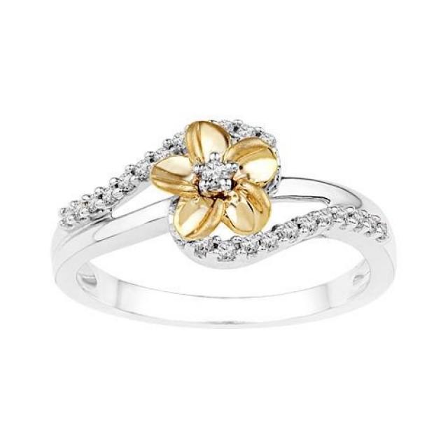 Золотое кольцо для помолвки 16915051