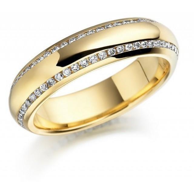 Золотое обручальное кольцо 412705к фото