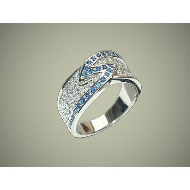 Золотое обручальное кольцо 415125
