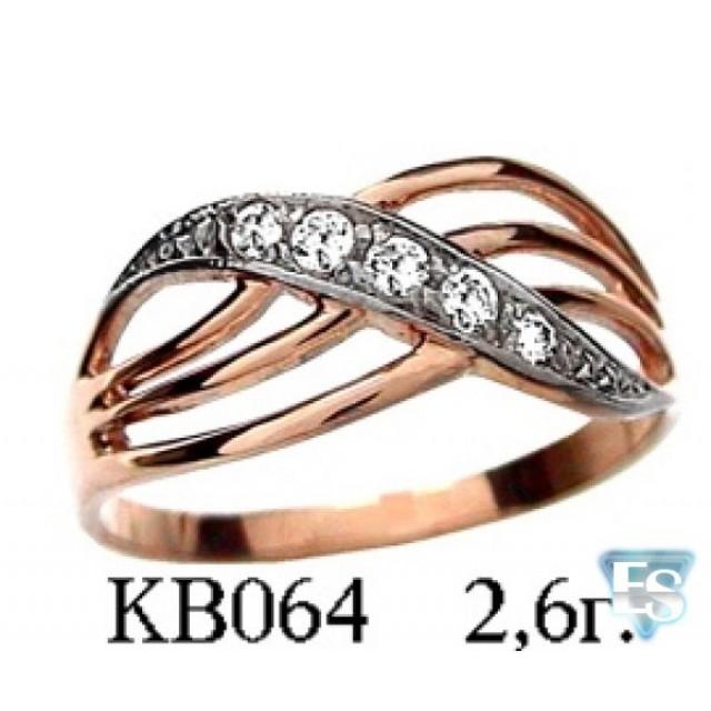 Золотое кольцо кв064ют