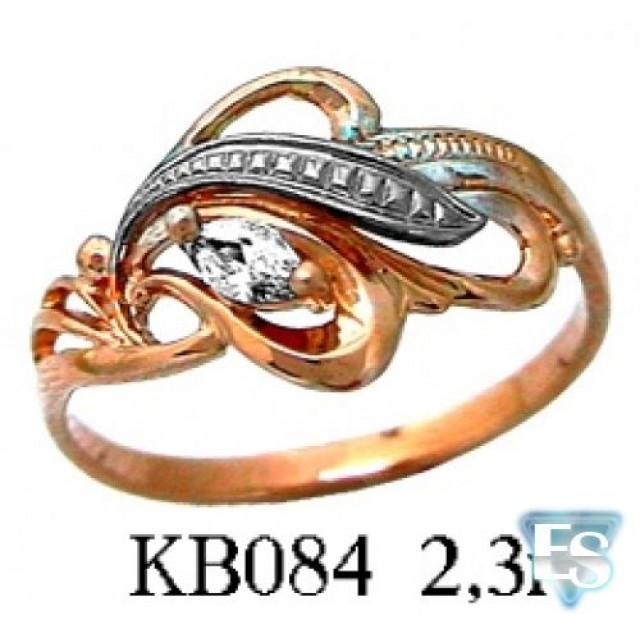 Золотое кольцо КВ 084